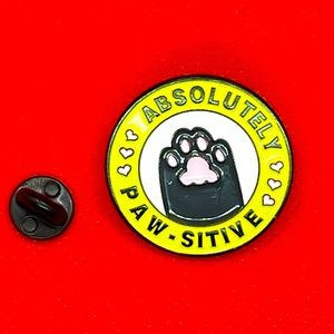 Absolutely Paw-Sitive Pin Brooch